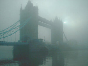 foggy day in London